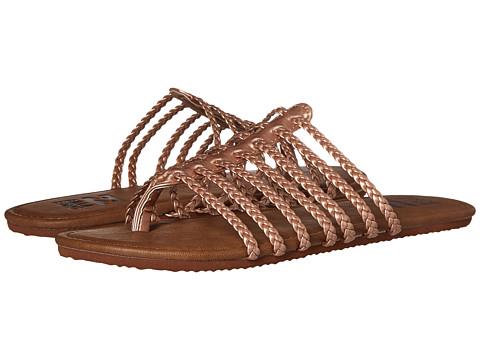 Incaltaminte Femei Billabong Beach Braidz Sandal Rose Gold Multi