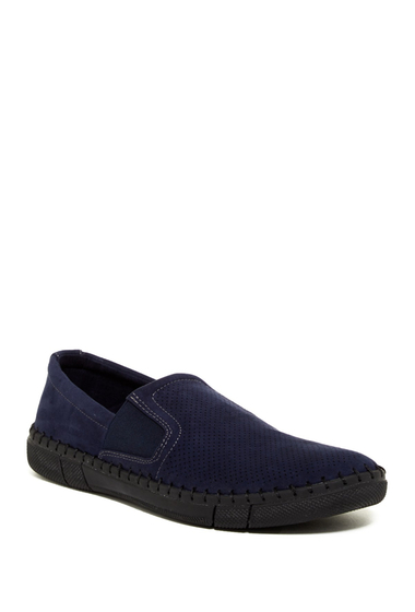 Incaltaminte Barbati Robert Wayne Road Perforated Loafer NAVY