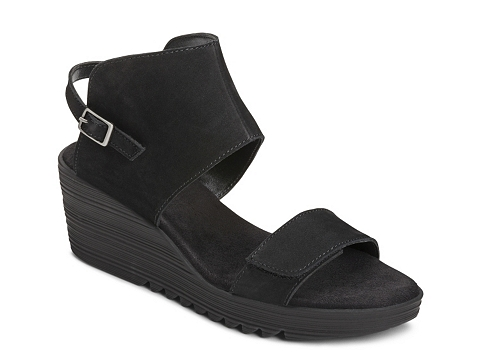Incaltaminte Femei Aerosoles In The Bog Wedge Sandal Black