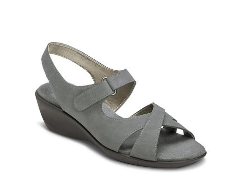Incaltaminte Femei Aerosoles Badvertisement Wedge Sandal Grey