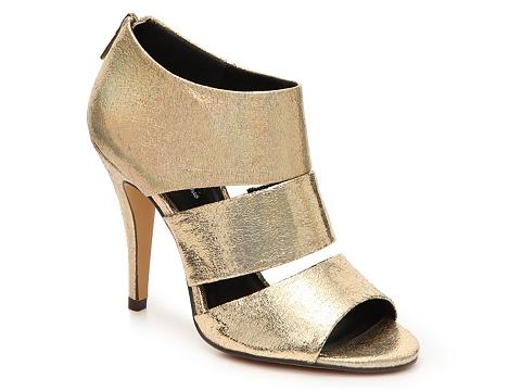 Incaltaminte Femei Michael Antonio Jawsmet Sandal Gold Metallic