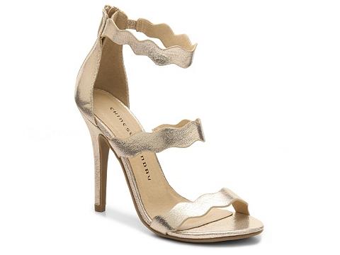 Incaltaminte Femei Chinese Laundry Jansen Sandal Gold Metallic
