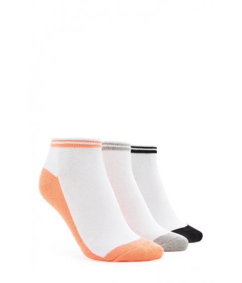 Imbracaminte Barbati Forever21 Varsity Ankle Sock Set Sunsetblack