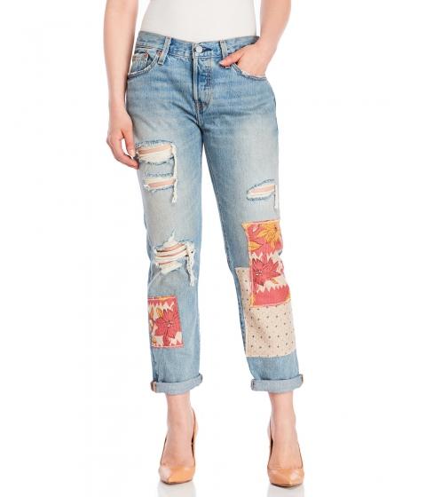 Imbracaminte Femei Levi's Desperado Patchwork 501 Cropped Jeans Desperado Patchwork