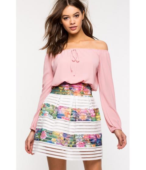 Imbracaminte Femei CheapChic Bloomy Dreams Flare Skirts FuchsiaPink Prt