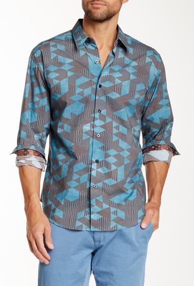 Imbracaminte Barbati Robert Graham Juniors Long Sleeve Tailored Fit Shirt TEAL