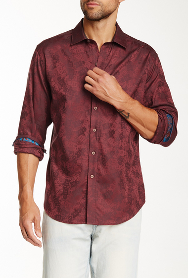 Imbracaminte Barbati Robert Graham Cookie Man Classic Fit Woven Shirt CINNAMON