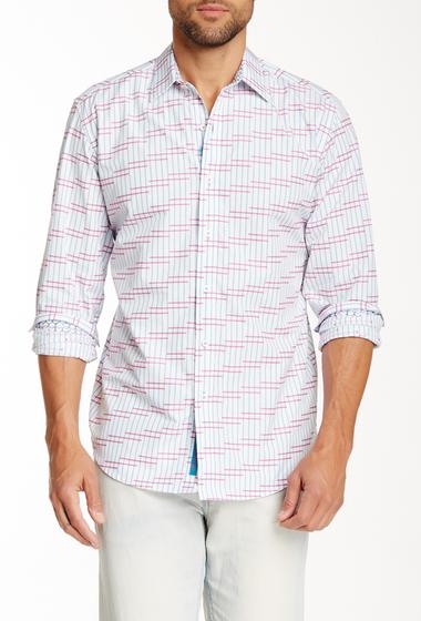 Imbracaminte Barbati Robert Graham Adamston Classic Fit Printed Shirt AQUA