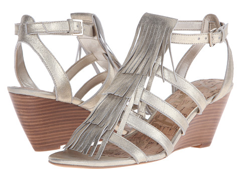 Incaltaminte Femei Sam Edelman Sandra Jute Dreamy Metallic Leather