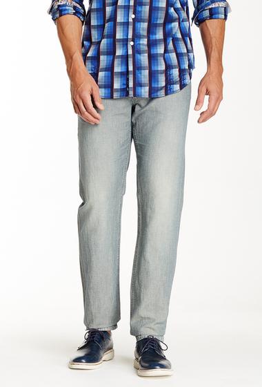 Imbracaminte Barbati Robert Graham Belize Faded Straight Leg Jean INDIGO