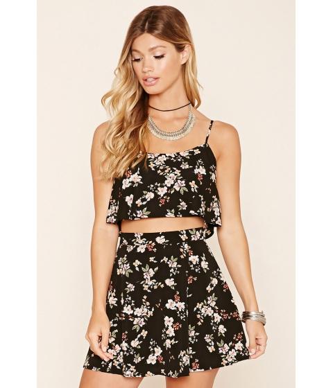 Imbracaminte Femei Forever21 Floral Print Skirt Blackpink