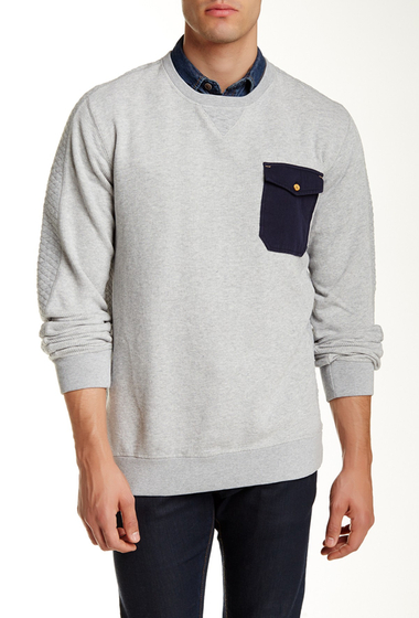 Imbracaminte Barbati Scotch Soda Home Alone Crew Neck Sweater GREY