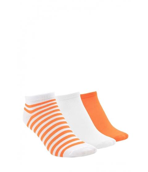 Imbracaminte Femei Forever21 Stripe Ankle Sock Set Sunsetwhite