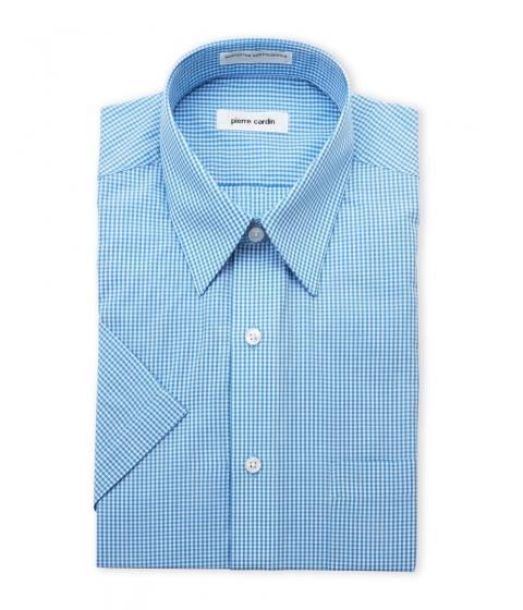 Imbracaminte Barbati Pierre Cardin Gingham Dress Shirt - Regular Fit Navy White