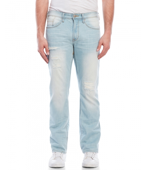 Imbracaminte Barbati Buffalo David Bitton Super Destructed Six Jeans Super Destructed