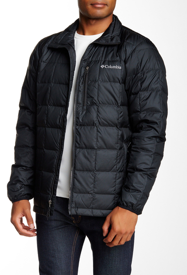 Imbracaminte Barbati Columbia Wilder Quest Down Jacket BLACK