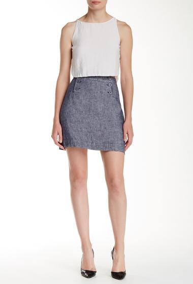 Imbracaminte Femei Max Studio Linen Sailor Skirt DKNVXDYE