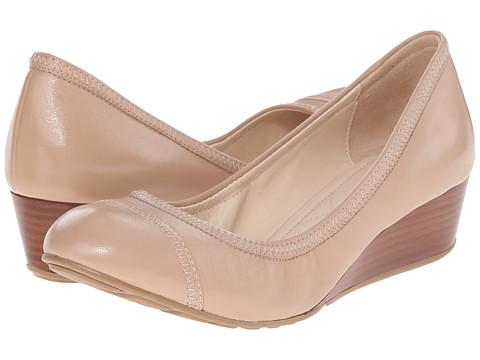 Incaltaminte Femei Cole Haan Tali Cap Toe Wedge 40 Maple Sugar Leather