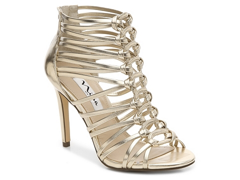 Incaltaminte Femei Nina Caylani Sandal Gold