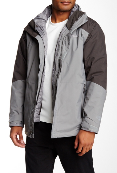 Imbracaminte Barbati Columbia Element Blocker 2-in-1 Jacket BOULDER