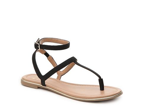 Incaltaminte Femei Mix No 6 Volaria Flat Sandal Black