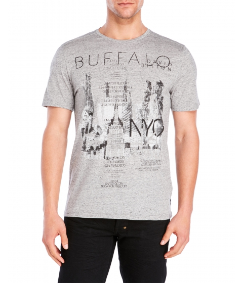 Imbracaminte Barbati Buffalo David Bitton Naftali NYC Tee Black