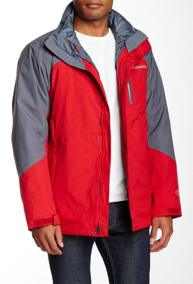 Imbracaminte Barbati Columbia Lhotse II Interchangeable 2-in-1 Jacket ROCKET GRAPHITE