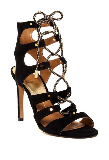 Incaltaminte Femei Dolce Vita Howie Lace-Up Sandal BLACK SUEDE