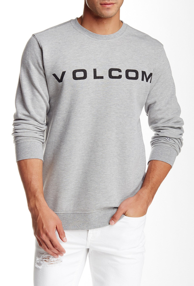 Imbracaminte Barbati Volcom Certified Crew Neck Sweatshirt GREY HEATH