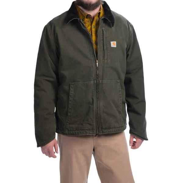 Imbracaminte Barbati Carhartt Full Swing Armstrong Jacket - Fleece Lined MOSS (02)