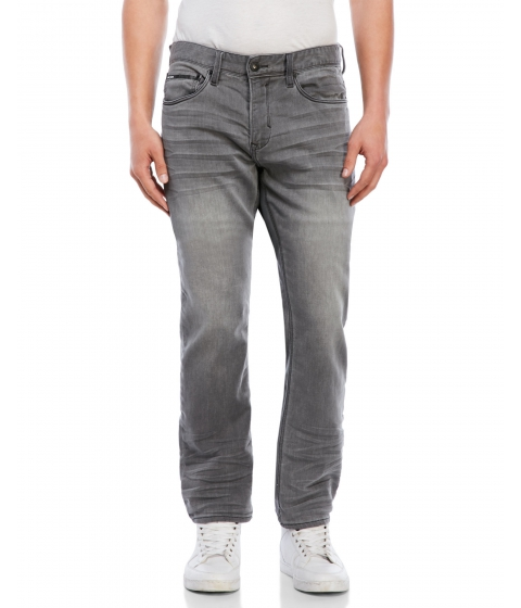 Imbracaminte Barbati Buffalo David Bitton Fred-X Easy Fit Stretch Jeans Hand Sanded Grey
