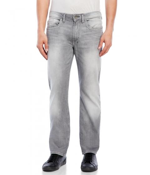 Imbracaminte Barbati Buffalo David Bitton Six-X Slim Straight Jeans Grey