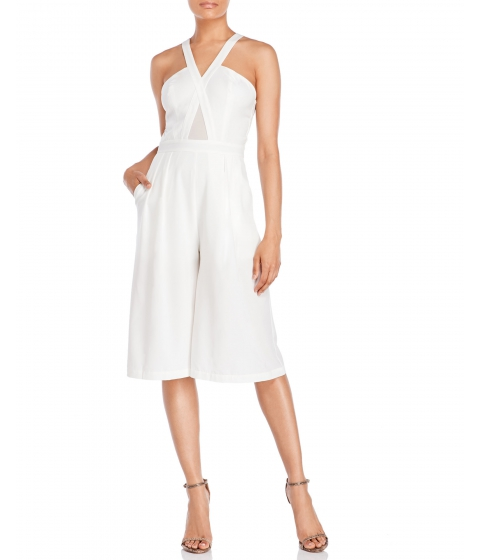 Imbracaminte Femei XOXO Sleeveless Culotte Jumpsuit Ivory