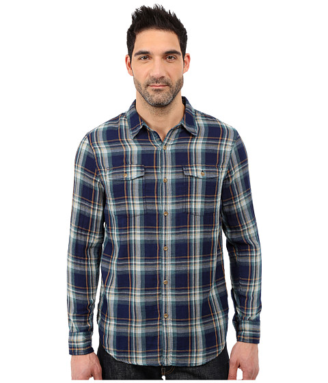 Imbracaminte Barbati Lucky Brand Double Weave Workshirt IndigoYellow