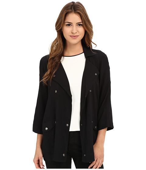 Imbracaminte Femei Jack by BB Dakota Mildred Rayon Challi Snap Front Jacket Black