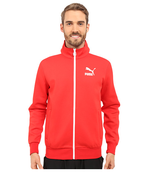 Imbracaminte Barbati PUMA Archive T7 Track Jacket High Risk Red