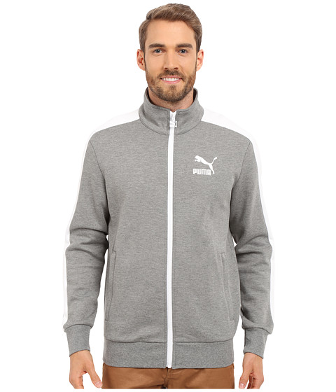 Imbracaminte Barbati PUMA Archive T7 Track Jacket Medium Gray Heather