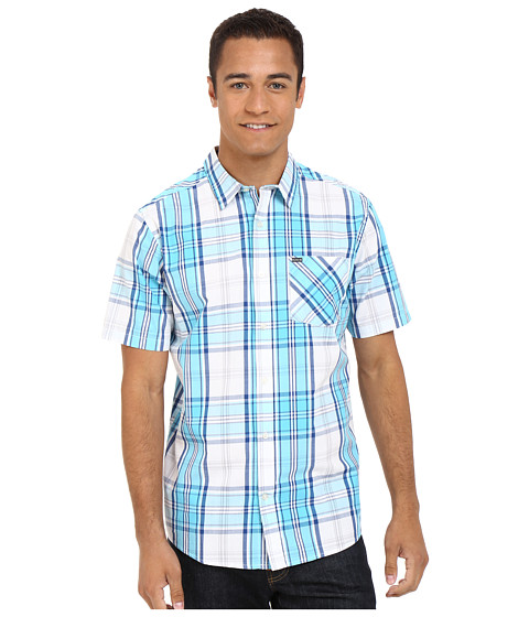 Imbracaminte Barbati Hurley Carson Short Sleeve Woven Beta Blue