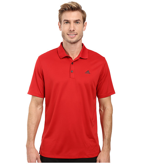 Imbracaminte Barbati adidas Golf Branded Performance Polo Power Red