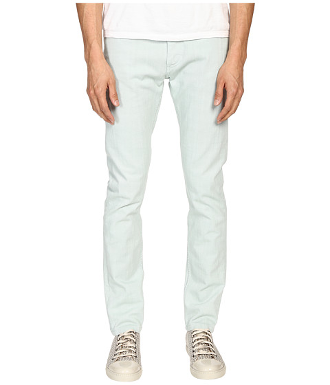 Imbracaminte Barbati Marc Jacobs Overdyed Slim Fit Denim in Mint Mint