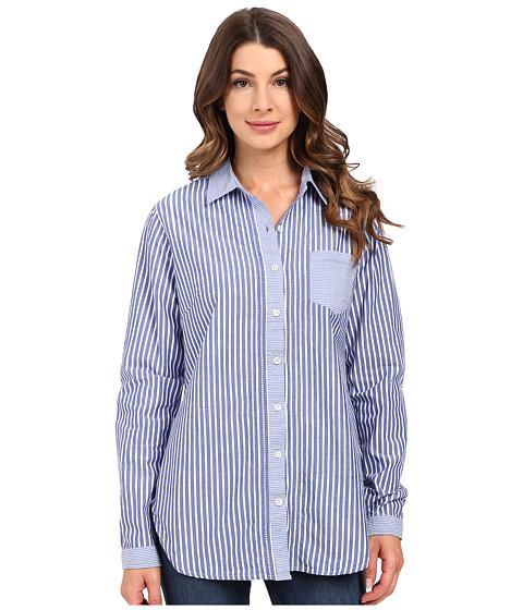 Imbracaminte Femei Jag Jeans Terri Mixed Stripes Shirt Yale Blue