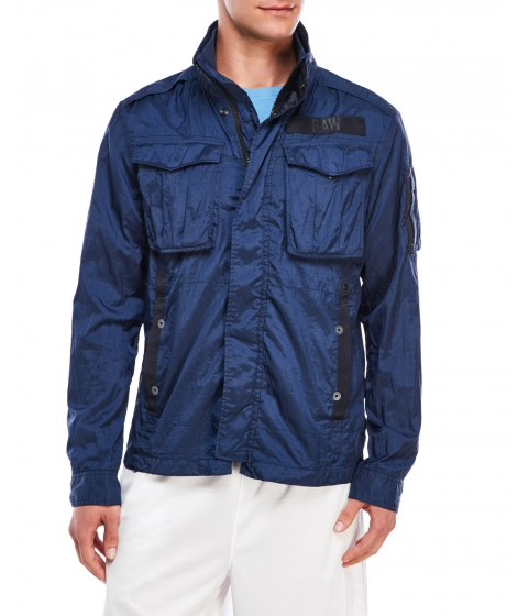 Imbracaminte Barbati G-STAR RAW Rovic Windbreaker Jacket Blue