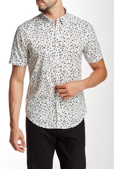 Imbracaminte Barbati Farah Vintage Camble Slim Fit Short Sleeve Shirt ecru