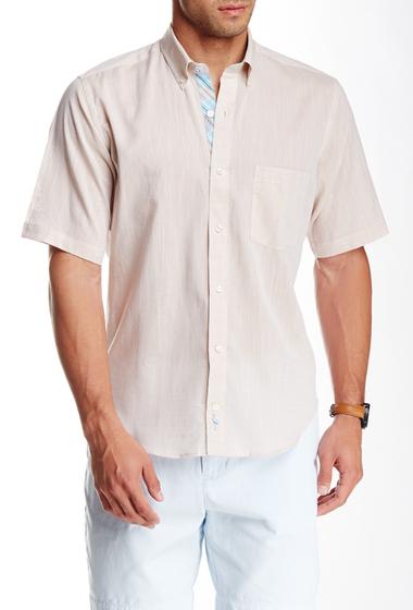 Imbracaminte Barbati TailorByrd Woven Short Sleeve Shirt KHAKI