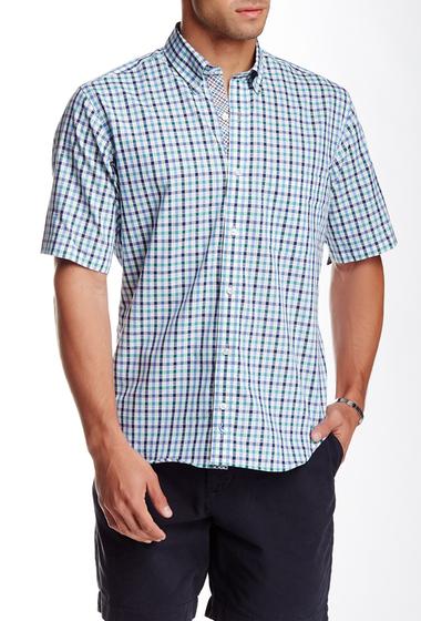Imbracaminte Barbati TailorByrd Plaid Short Sleeve Shirt GREEN