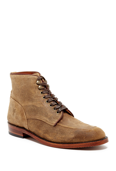 Incaltaminte Barbati Frye Walter Lace-Up Mid Boot CAMEL
