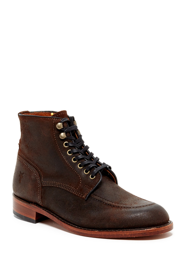 Incaltaminte Barbati Frye Walter Lace-Up Mid Boot DARK BROWN