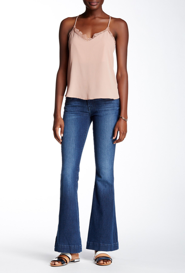 Imbracaminte Femei HUDSON Jeans Ferris Barefoot Flap Flare Jean CANAL