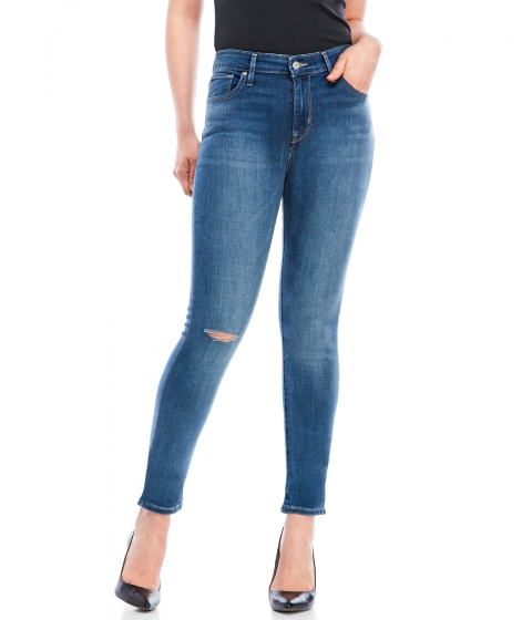 Imbracaminte Femei Levi's High-Rise Skinny Jeans Windblown