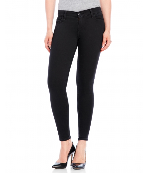 Imbracaminte Femei Levi's Black 710 Super Skinny Jeans Black